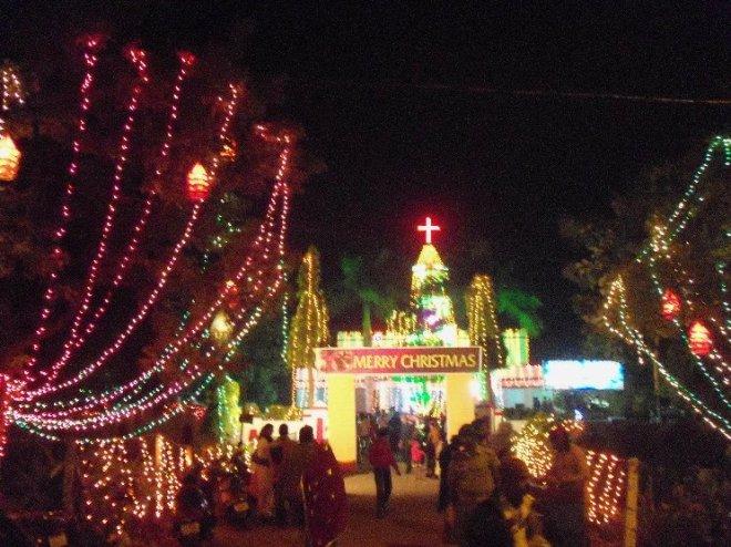 Very busy festival...oh wait, Christmas festival