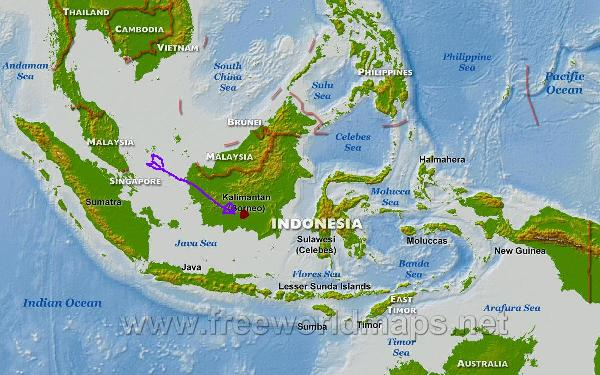 indonesia-map-physical-big