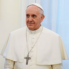 Pope Francis (This file is taken from the Presidency of the Nation of Argentina web site,   presidencia.gov.ar)