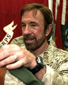 Chuck Norris in 2011