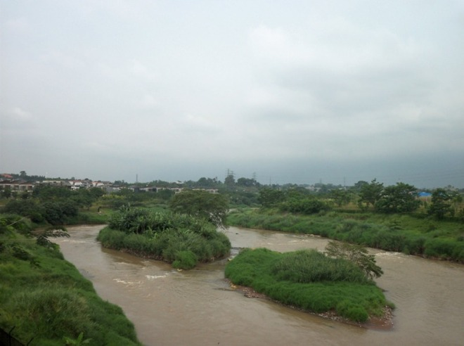 Sungai Cisadane - arah Serpong