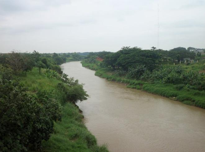 Sungai Cisadane - arah Tangerang