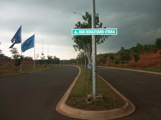 Boulevard BSD - mendung