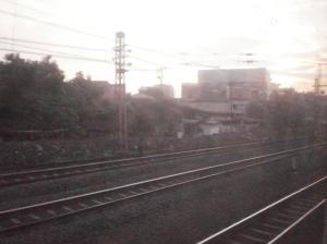 Rel2 di Stasiun Jatinegara