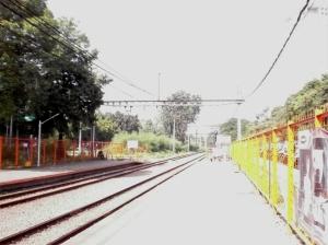 Stasiun Palmerah - arah Bintaro / Serpong