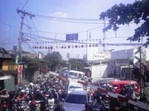 Jalan raya di daerah Kebayoran Lama - Ciledug - Tanah Kusir 1