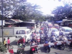 Jalan raya di daerah Kebayoran Lama - Ciledug - Tanah Kusir (2)