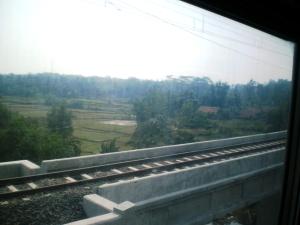 Mana mungkin saya melewatkan foto jembatan ini :)