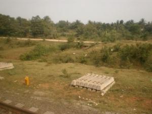 View dari Stasiun Tenjo menuju Tiga Raksa