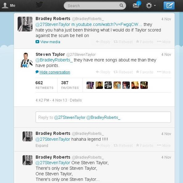 Steven Taylor Funny Tweet :)