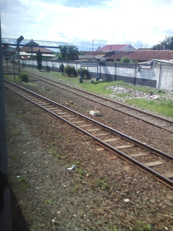 Enter Padalarang Railway Station