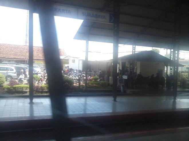Cikampek Railway Station