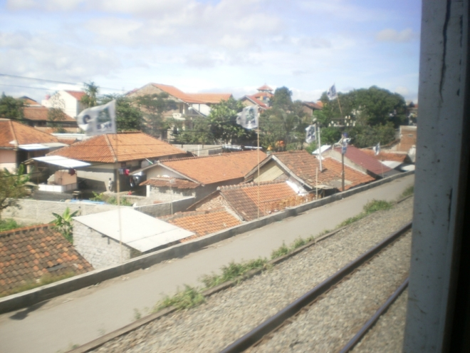 Cimahi Residence as seen from the train