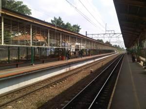 Stasiun Cawang (arah Utara - ke Jakarta Pusat dan Manggarai)