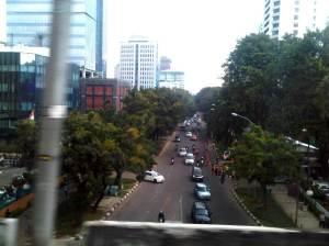 Jalan Kebon Sirih, Jakarta Pusat - dari sini sangat mudah menuju Jalan Thamrin / kawasan Sarinah dan kawasan Gambir / Monas