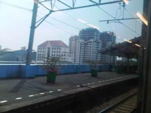 Stasiun Juanda (4) - sisi Barat menghadap Utara