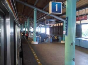 Stasiun Juanda (3) - sisi Timur menghadap Utara