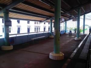 Stasiun Juanda (2) - sisi Timur menghadap Selatan