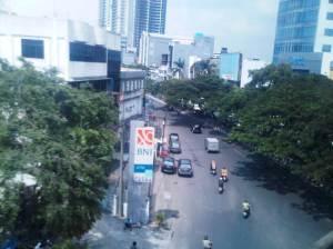 Jalan Samanhudi - (arah Barat stasiun Sawah Besar)
