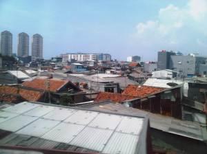 Pertokoan dan pemukiman sekitar Mangga Besar (1)