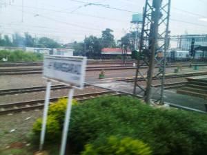 Into Manggarai Station