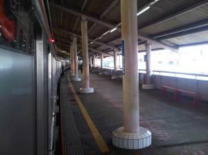 Stasiun Sawah Besar (sisi Timur arah Utara)