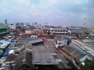 Kawasan pertokoan sekitar St. Sawah Besar