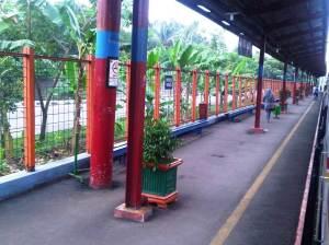 Stasiun Univ Pancasila (3) - sisi Timur