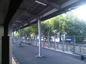 Stasiun Klender 2 - sepi