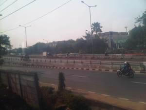 Jl Kol I Gusti NGurah Rai ujung - mulai terlihat banyak gudang industri dan semakin jarang ruko2 karena semakin dekat perbatasan Bekasi