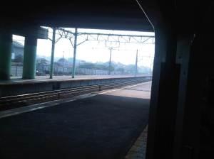 Stasiun Cakung 2 - arah Bekasi / arah Timur
