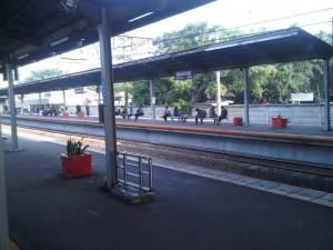 Stasiun Cakung 1 - arah Jakarta