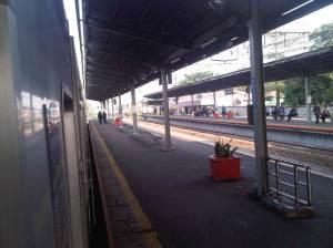 Stasiun Cakung 4 - arah Jakarta