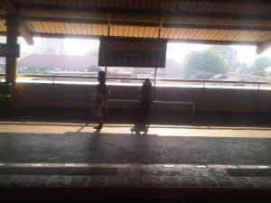 Stasiun Gondangdia 2 - sisi Timur