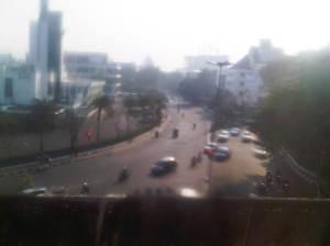 PErsimpangan Jl. Cikini Raya - Diponegoro -Proklamasi - arah ke Salemba