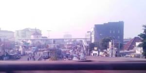 Terlihat Jl. Raya Matraman meski foto tidak sempurna